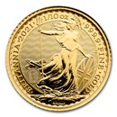 2021 Great Britain 1/10 oz Gold Britannia BU