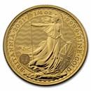 2021 Great Britain 1/4 oz Gold Britannia