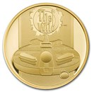 2021 Great Britain 1/4 oz Gold Proof Music Legends: The Who