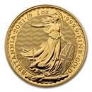 2021 Great Britain 1 oz Gold Britannia BU Coin