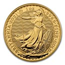 2021 Great Britain 1 oz Gold Britannia BU
