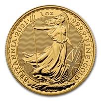 2021 Great Britain 1 oz Gold Britannia BU