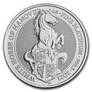 2021 Great Britain 1 oz Platinum Queen's Beast The White Horse