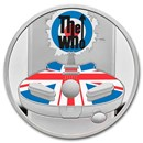 2021 Great Britain 1 oz Proof Silver Music Legends: The Who