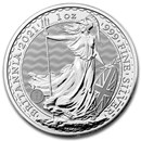 2021 Great Britain 1 oz Silver Britannia BU