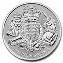 2021 Great Britain 1 oz Silver The Royal Arms BU