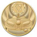2021 Great Britain 2 oz Gold Music Legends The Who Coin Proof
