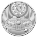 2021 Great Britain 2 oz Silver Music Legends: The Who Proof
