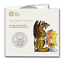 2021 Great Britain Queen's Beasts Griffin BU (w/Display Card)