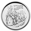 2021 Great Britain Silver 50p Beatrix Potter Proof (Peter Rabbit)
