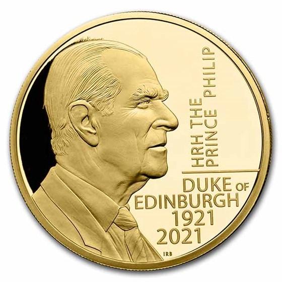 2021 HRH The Prince Philip, Duke of Edinburgh 1/4 oz Gold Proof