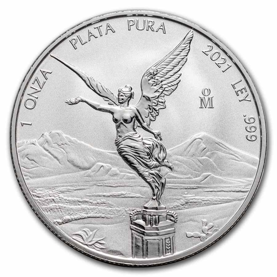 2021 Mexico 1 oz Silver Libertad Reverse Proof