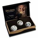 2021 New Zealand 3 Coin Silver Fellowship Proof Set