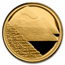 2021 Niue 1/10 oz Gold 7 Wonders of the World: Great Pyramid