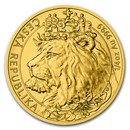 2021 Niue 1/4 oz Gold Czech Lion BU