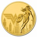 2021 Niue 1 oz Gold $250 DC Comics Justice League: Wonder Woman