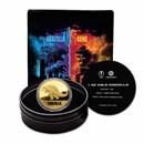 2021 Niue 1 oz Gold $250 Godzilla (w/ Gift Tin & COA)