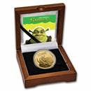 2021 Niue 1 oz Gold $250 Shrek 20th Anniversary BU