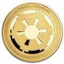 2021 Niue 1 oz Gold $250 Star Wars: Galactic Empire BU
