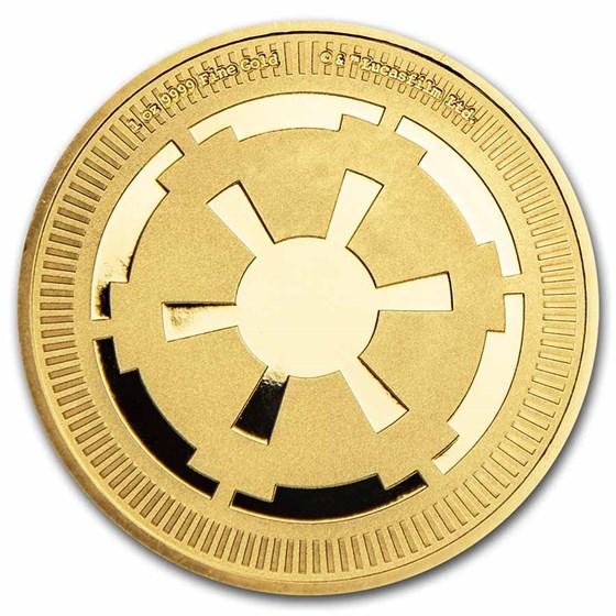 2021 Niue 1 oz Gold $250 Star Wars: Galactic Empire Bullion Coin