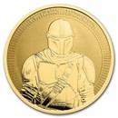 2021 Niue 1 oz Gold $250 Star Wars: The Mandalorian BU