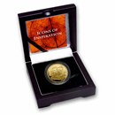 2021 Niue 1 oz Gold Icons: da Vinci BU (Signed COA)