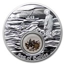 2021 Niue 1 oz Silver $2 In the Footsteps of Jesus Sea of Galilee