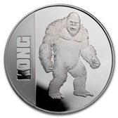 2021 Niue 1 oz Silver $2 Kong Coin (Abrasions)
