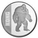 2021 Niue 1 oz Silver $2 Kong Coin BU