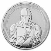 2021 Niue 1 oz Silver $2 Star Wars: The Mandalorian BU
