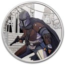 2021 Niue 1 oz Silver $2 Star Wars The Mandalorian (w/Box & COA)
