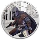 2021 Niue 1 oz Silver $2 Star Wars The Mandalorian (w/Box & COA)
