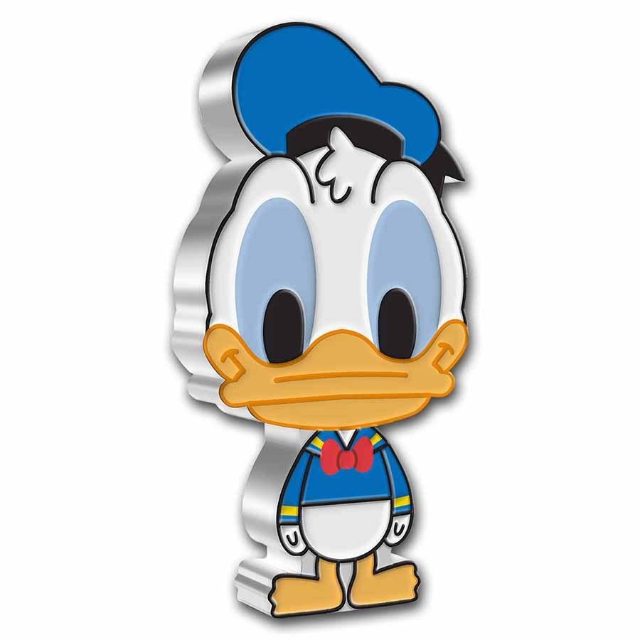 2021 Niue 1 oz Silver Chibi Coin Collection: Donald Duck