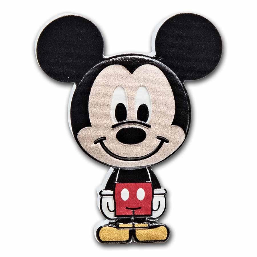 2021 Niue 1 oz Silver Chibi Coin Collection: Mickey Mouse