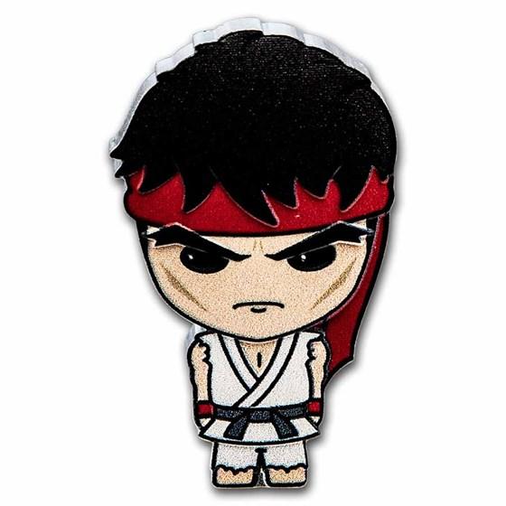 2021 Niue 1 oz Silver Chibi Coin Collection: Street Fighter Ryu