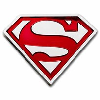 2021 Niue 1 oz Silver Coin $2 DC Heroes: SUPERMAN™ Shield