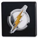 2021 Niue 1 oz Silver Coin $2 DC Heroes: THE FLASH™ Emblem