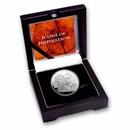 2021 Niue 1 oz Silver Icons: da Vinci Proof (Signed COA)