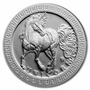 2021 Niue 1 oz Silver Proof Mythical Creatures: Unicorn