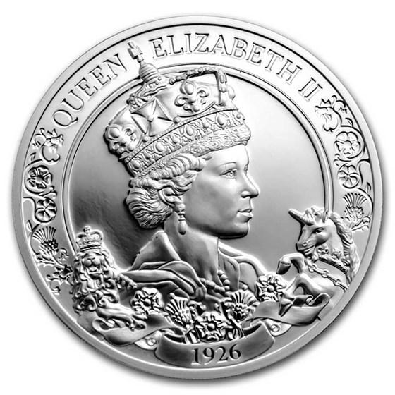 2021 Niue 1 oz Silver Proof Queen Elizabeth II 95th Birthday