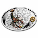 2021 Niue 1 oz Silver Proof Signs of Zodiac: Cancer