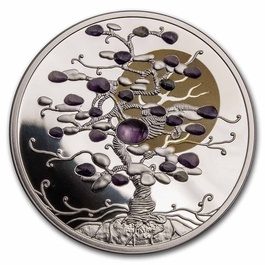 2021 Niue 1 oz Silver Tree of Luck Proof