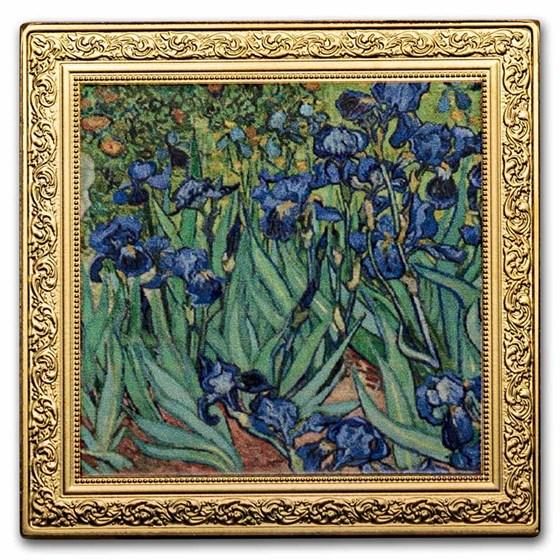 2021 Niue 1 oz Silver Vincent van Gogh: Irises