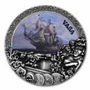 2021 Niue 2 oz Antique Silver Shipwrecks in History: Vasa