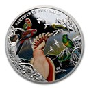 2021 Niue 5 oz Silver Proof Parrots of Australia