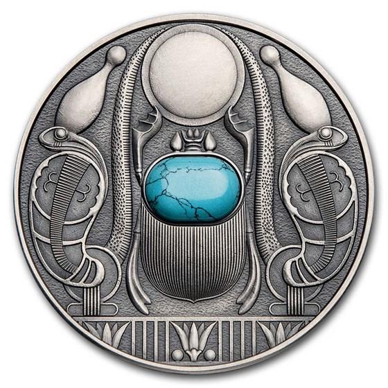 2021 Niue Silver Antique Scarabaeus