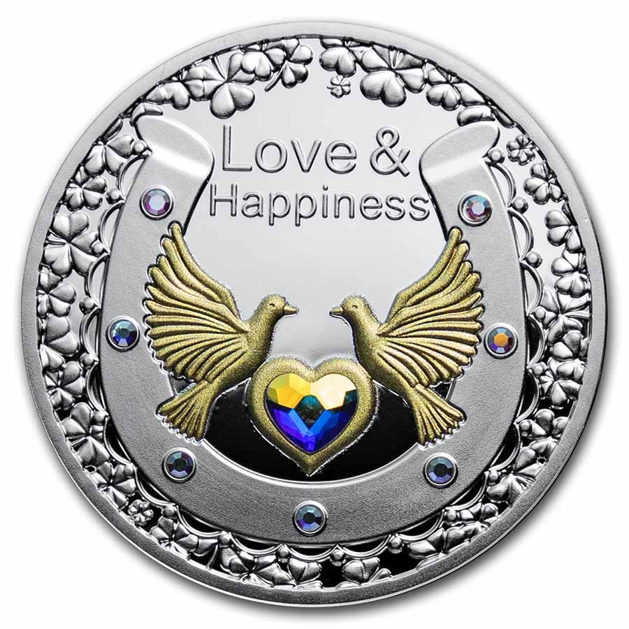 2021 Niue Silver Proof Love & Happiness