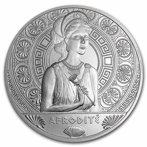 2021 Niue Silver Universal Goddess: Aphrodite