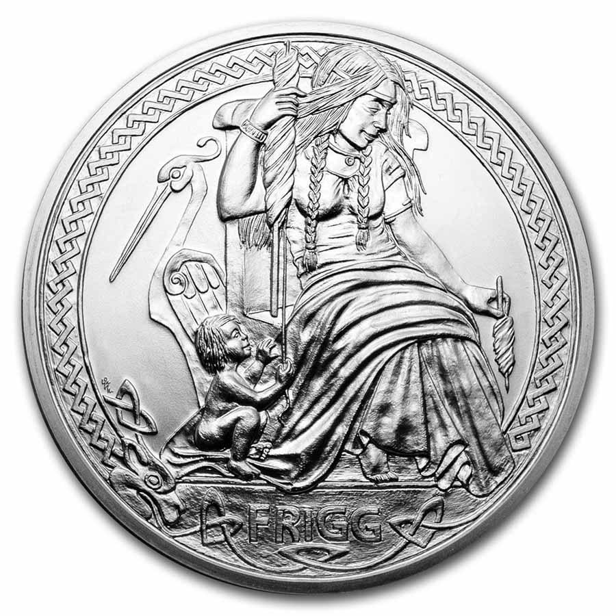 2021 Niue Silver Universal Goddess: Frigg