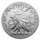 2021 Niue Silver Universal Goddess: Vesna